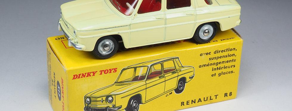 DINKY TOYS FRANCE - 517 - RENAULT 8 - JANTES ALUMINIUM