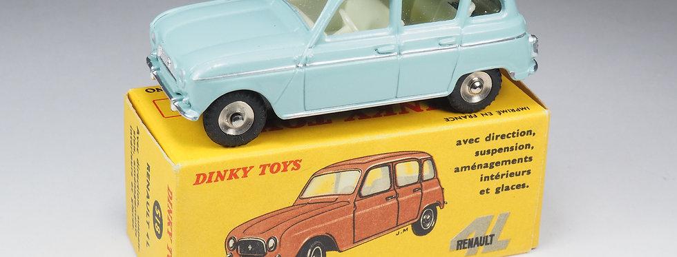 DINKY TOYS FRANCE - 518 - RENAULT 4L