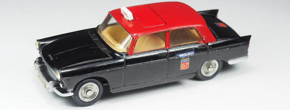 DINKY TOYS FRANCE - 1400 - PEUGEOT 404 TAXI G7 - 1/43