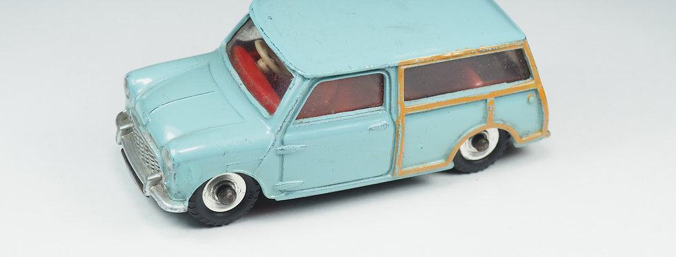 DINKY TOYS ENGLAND - 199 - Austin Seven Countryman - Uncommon Suede blue