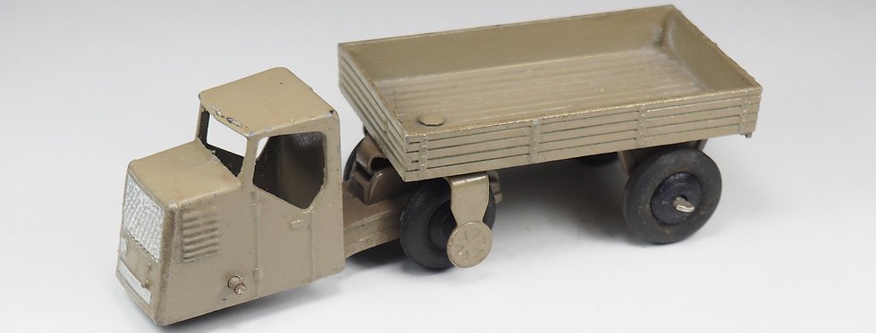 DINKY TOYS ENGLAND - 33W - Mechanical Horse and open wagon