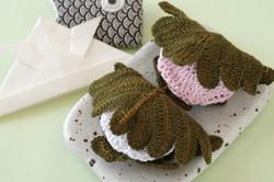 編みぐるみ 柏餅