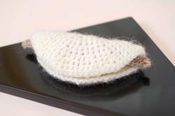 編みぐるみ 花びら餅