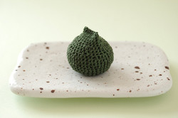 編みぐるみ 草餅