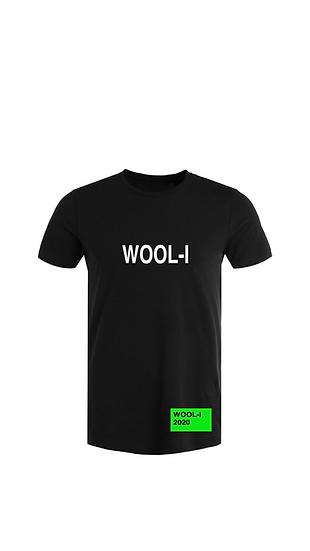 WOOL-I t-shirt green label