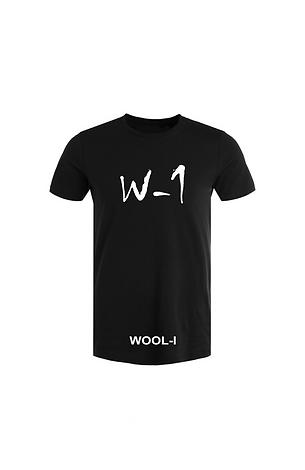 WOOL-I X W-1 t-shirt black