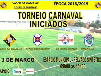 Iniciados - Torneio de Carnaval em Sines dia 03/03