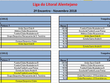 2º Encontro da Liga do Litoral Alentejano