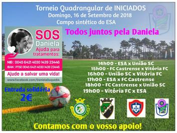 Iniciados - Jogo Solidário, Vamos Ajudar a Daniela