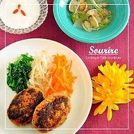 料理教室スーリール レッスンのメニュー見本写真