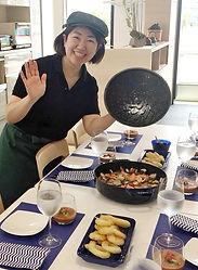 料理教室スーリール 講師・料理・テーブルコーディネートの写真