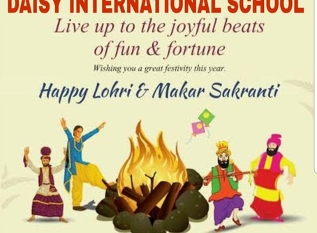 Happy lohri and makar sankranti !!