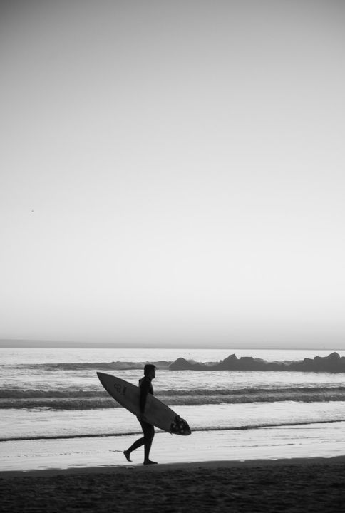 Surfing in Venice by Markus Henttonen