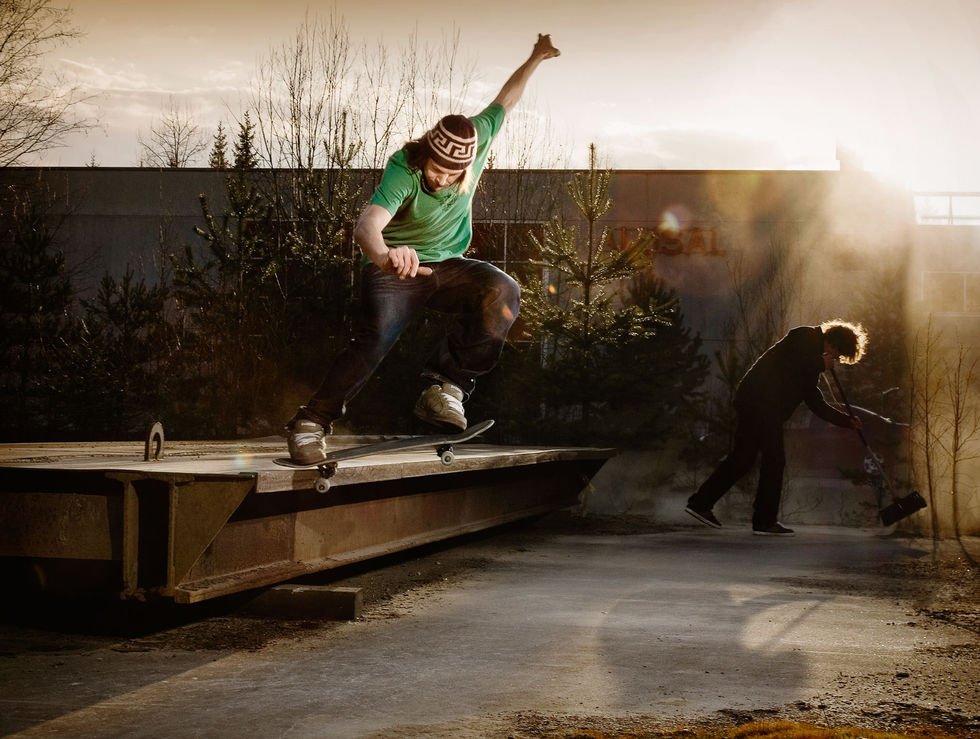 Tossu by Markus Henttonen Hang Up Skateboarding Mag