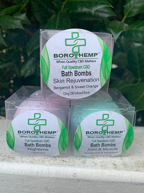 Full Spectrum CBD Bath Bomb