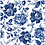 Thumbnail: Blue Sketched Flowers