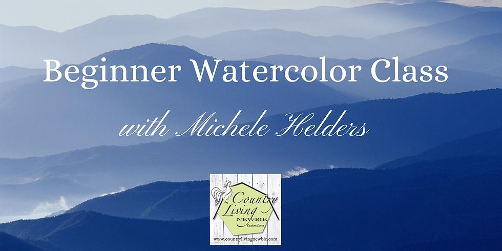 Beginner Watercolor Class