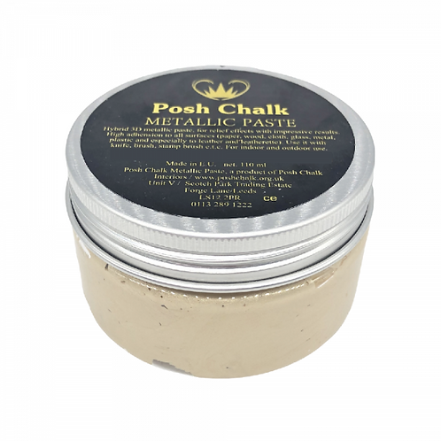 Light Gold Posh Smooth Paste