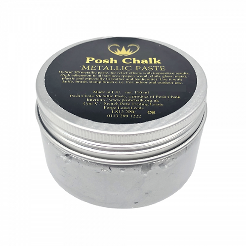 Pearl Silver Posh Smooth Paste