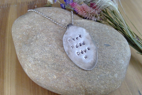 Pressed Spoon Necklace