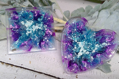 Resin Coasters (Set of 2)