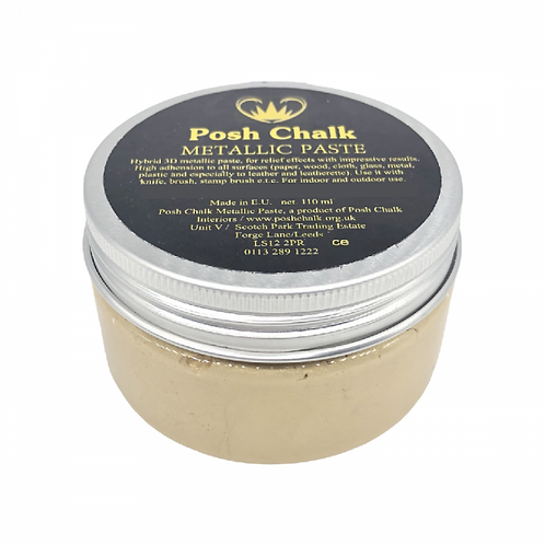 Shiny Gold Posh Chalk Smooth Paste