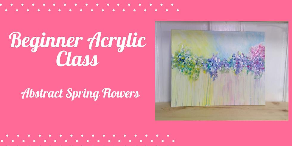 Beginner Acrylic on Canvas