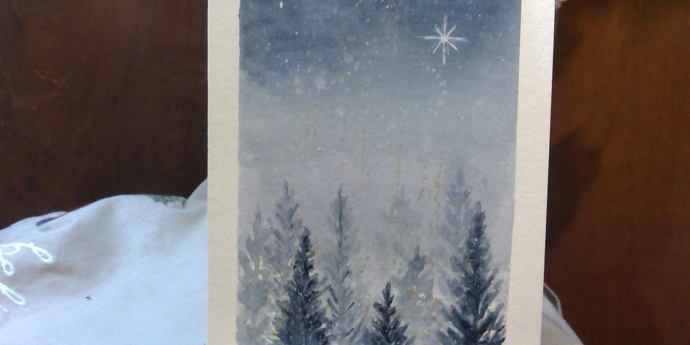 Paint Your Own Greeting Card