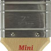 Mini Flat 2' Synthetic Brush