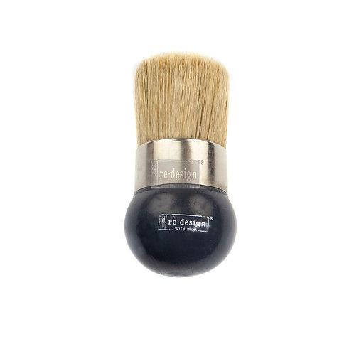 """Stencil Brush 2"""" Round Handle"""