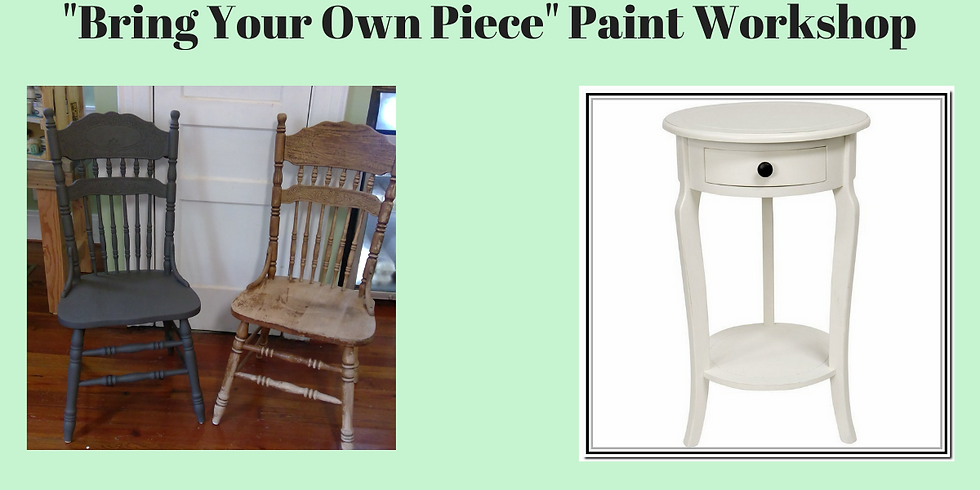 Paint Your Own Piece of Furniture