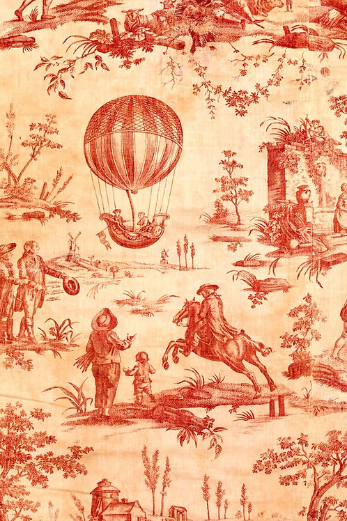 Red Toile