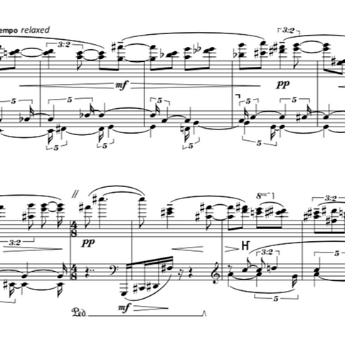 Image of musical score