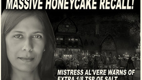 BREAKING NEWS! TWO RIVERS ISSUES MASSIVE HONEYCAKE RECALL!