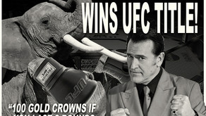WWN 2:44 - GIANT BOAR HORSE WINS UFC TITLE!