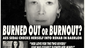 BREAKING NEWS! BURNED OUT OR BURNOUT?
