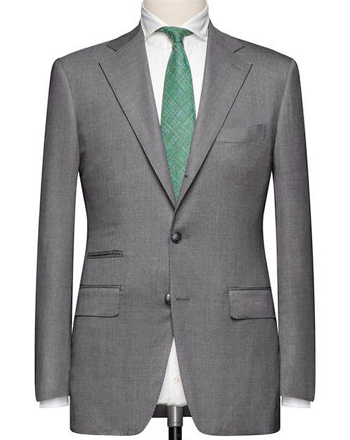 Light Grey Classics Suit