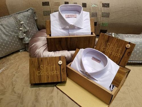 Shirt Concepts - Bespoke White Shirt Gift Certificate 個人白色襯恤訂製 禮劵
