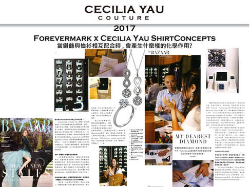 Forevermark x Cecilia Yau Shirt Concepts