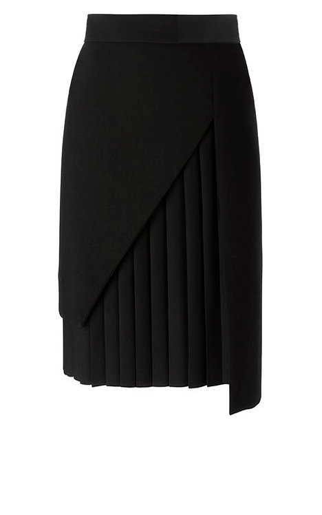 【CHIC】BLACK PLEAT SKIRT【WSK 1754】C+++