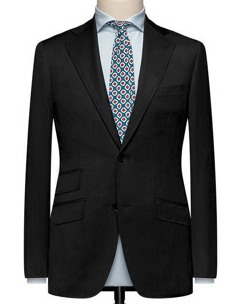 BLACK CLASSIC SUIT WITH MODERN CUT