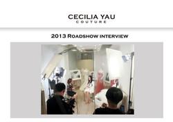 2013 Roadshow interview