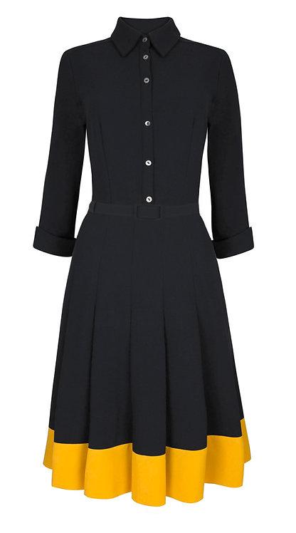 【CHIC】SUNFLOWER SHIRTWAIST DRESS【WDS 1652】C