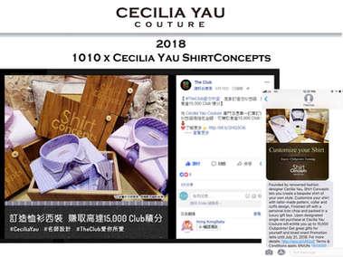 1010 X Shirt Concepts by Cecilia Yau