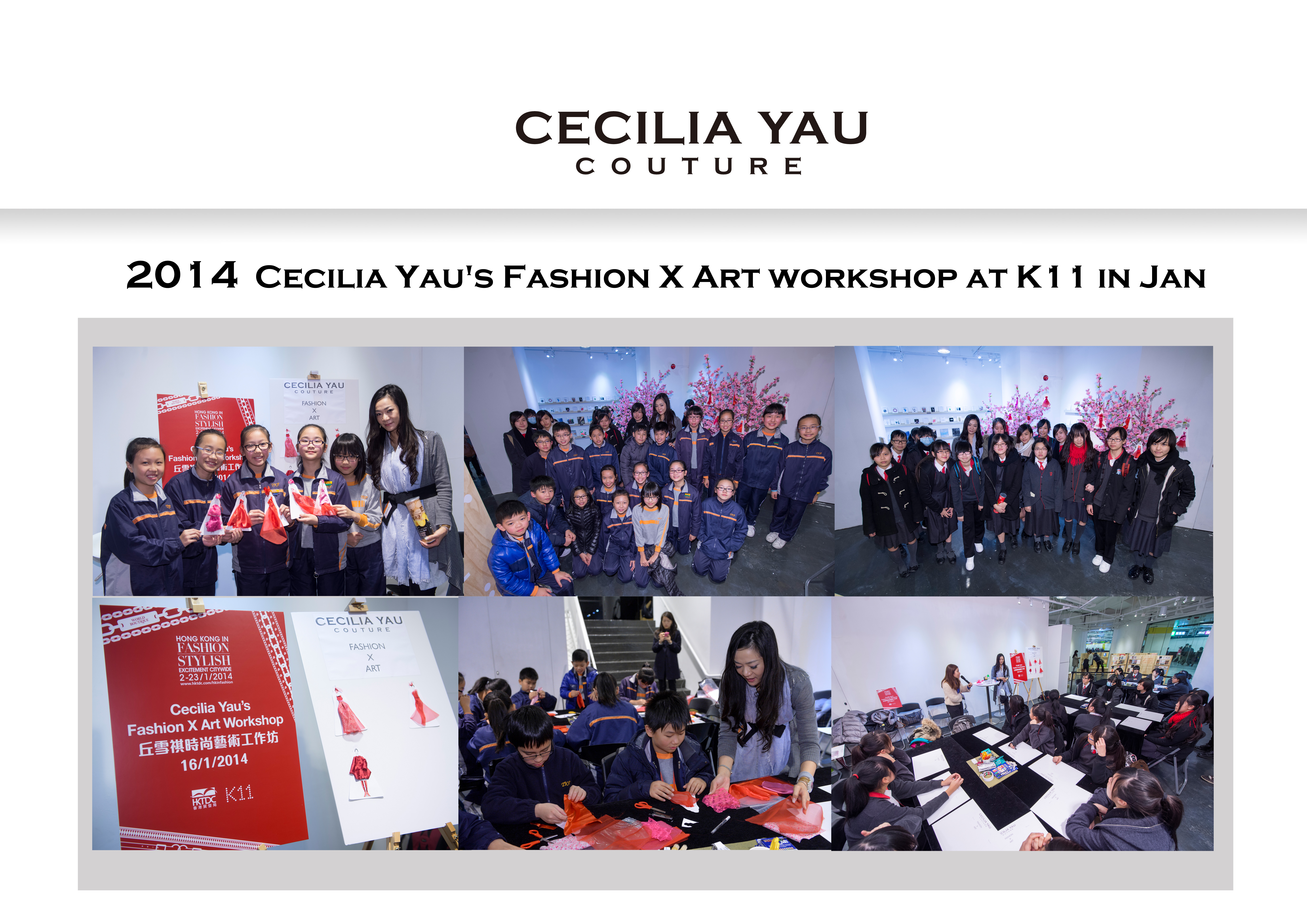 Cecilia Yau grooms fashion talents