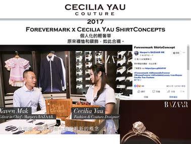 Forevermark x Cecilia Yau Shirt Concepts