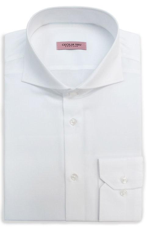 White 100% Egyptian Cotton Shirt