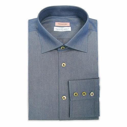 Indigo Italian Shirt