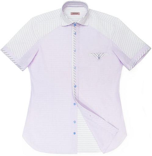 Lavender Short Sleeve Shirt