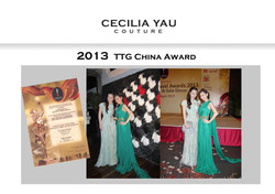 2013 TTG China Award